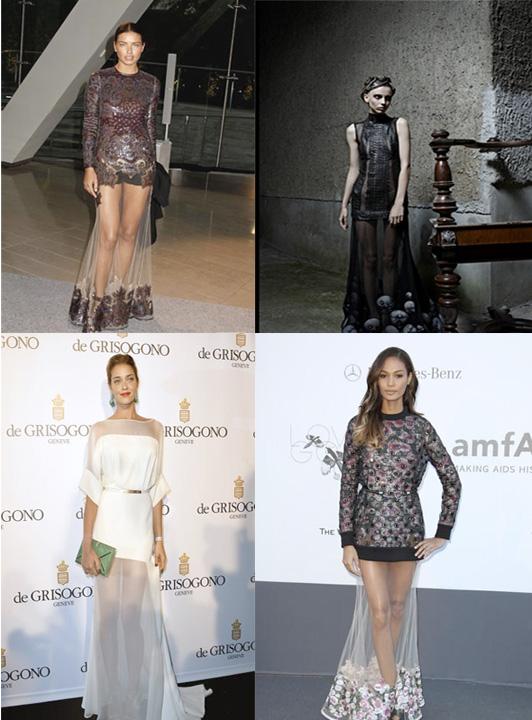 The Peek-a-Boo Dress: 2013's Newest Trend